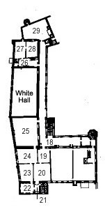 Picture: Plan of the second floor