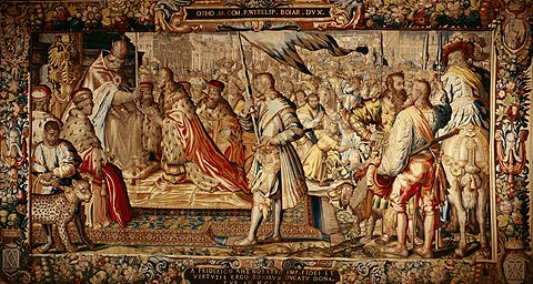 Picture: Tapestry from the Otto-von-Wittelsbach series